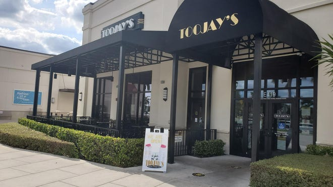 TooJay's, along with the entire Palm Beach Gardens Outlet mall, was virtually empty on the second day Palm Beach County restaurants and businesses were allowed to reopen with restrictions. Tuesday, May 12, 2020.