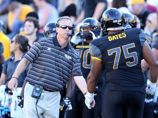 NCAA Football: Austin Peay at Southern Mississippi