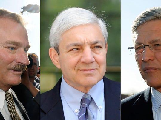 Gary Schultz, Tim Curley, Graham Spanier