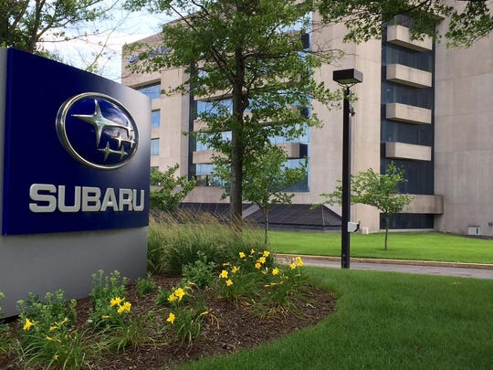 Subaru of America headquarters off Route 70 in Cherry Hill would hold an apartment complex under terms of a proposed settlement of a court fight between the township and Woodcrest Country Club's owner.