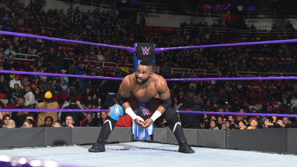 Cedric Alexander will compete as part of WWE's 205 Live tour at Mid-Hudson Civic Center on Jan. 21.