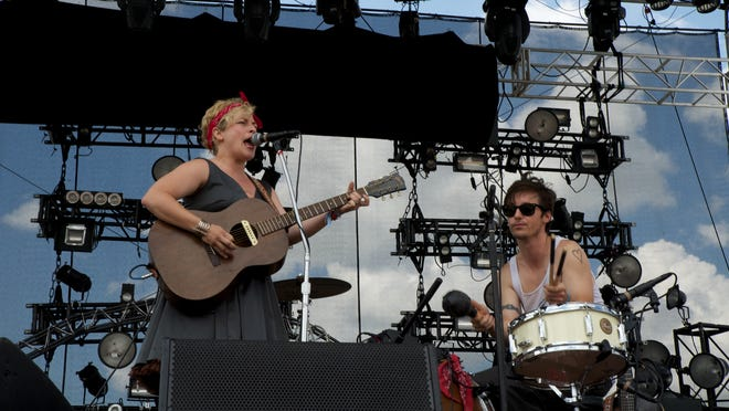 Shovels and Rope play Forecastle Festival 2013. Visitors to this year's festival get help from a Yelp survey on where to eat, drink, shop and more in Louisville.