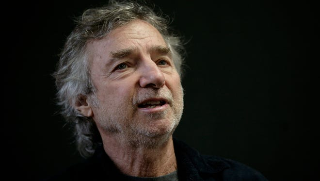 In this Dec. 1, 2009 file photo, U.S. filmmaker Curtis Hanson, speaks during an interview at the International Book Fair in Guadalajara, Mexico.