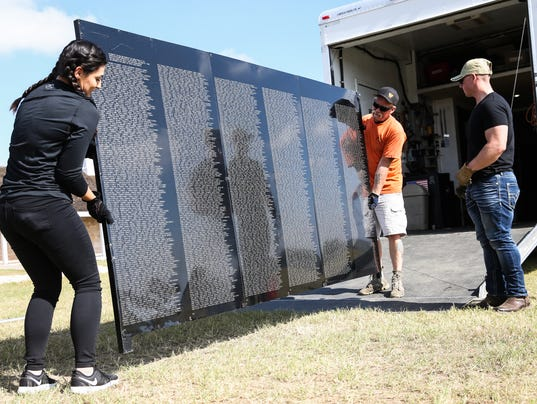 The Wall That Heals Nov. 15, at Fort Concho