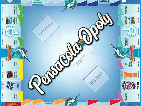 The Pensacola-Opoly board game is available exclusively