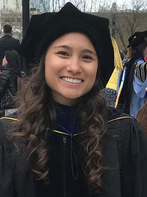 Sophina H. Taitano, daughter of Joseph C. Taitano and Elizabeth Horne, graduated from the University of Michigan at Ann Arbor on April 27, 2018 with a Ph.D. in the field of Immunology. Sophina attended Upi Elementary, F.B. Leon Guerrero Middle School and graduated from Academy of Our Lady of Guam in 2009.  In 2013, she graduated from Chaminade University, Hawaii, top of her class, with a B.S. in Forensic Science with a minor in Biology and Chemistry. Sophina has accepted a Post-Doctoral position at the University of Colorado at Denver starting July 2018.