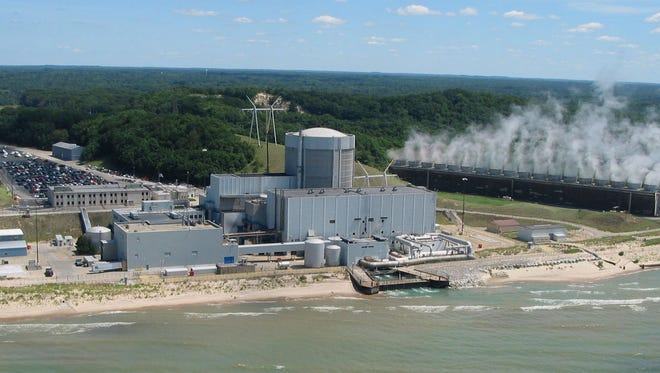 The Palisades nuclear plant in Covert Township, Mich.