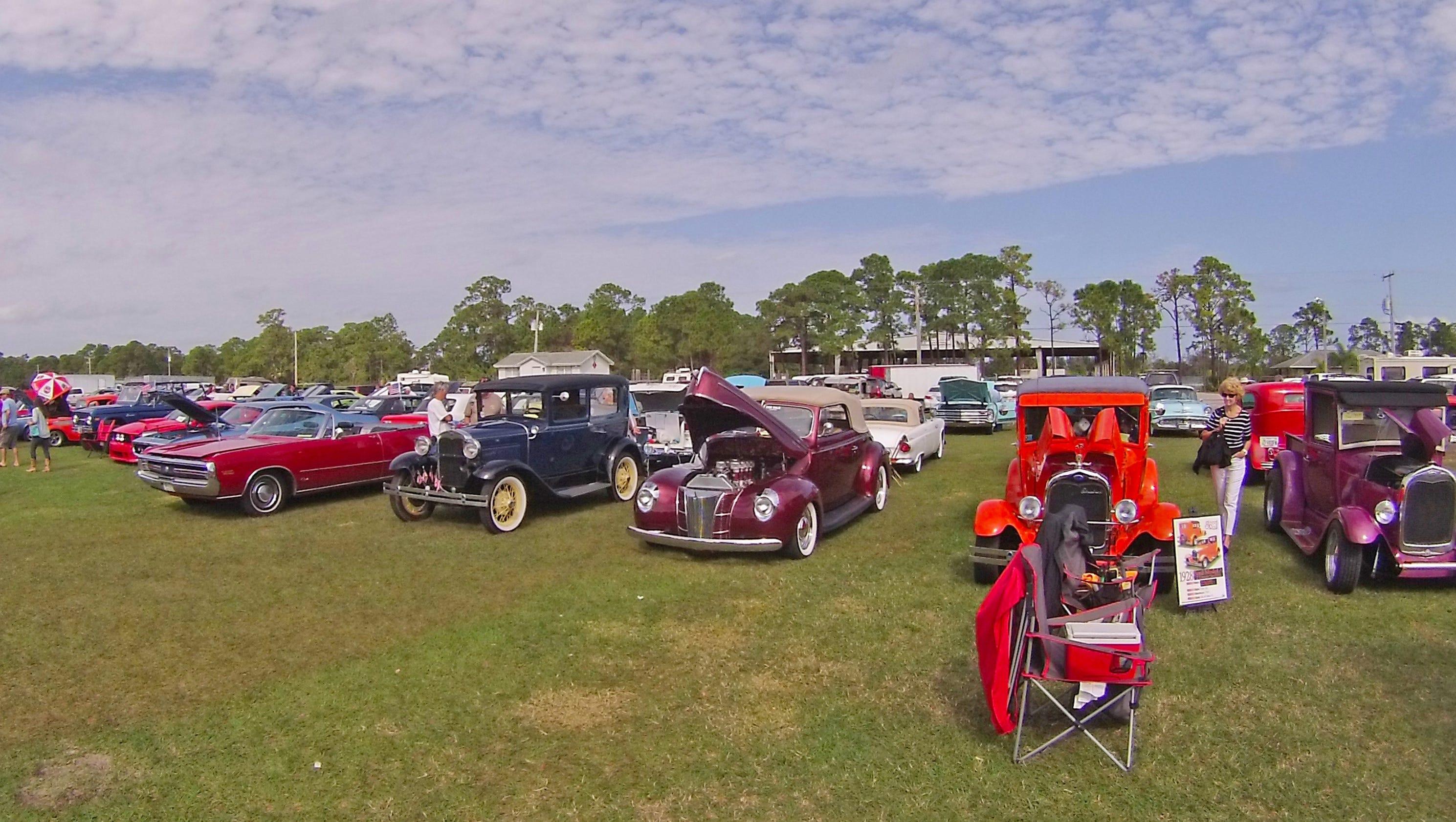 Classic car show season back at last