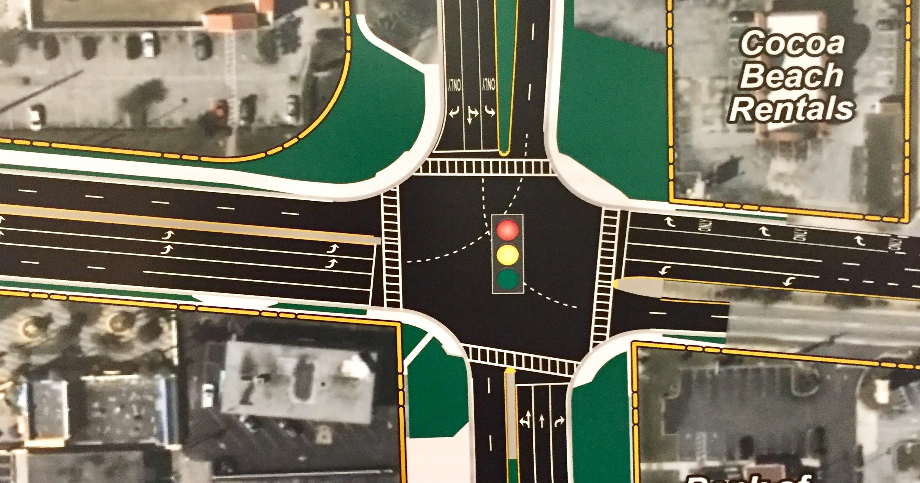 Congested Cocoa Beach SR A1A-520 intersection may get an update on map of eastport, map of long key, map of wimauma, map of howey in the hills, map of wheat, map of oak hill, map of big coppitt key, map of north redington shores, map of sun city center, map of lake panasoffkee, map of sebastian inlet state park, map of melbourne beach, map of vero lake estates, map of platinum, map of rotonda, map of callaway, map of citrus, map of cassadaga, map of casselberry, map of shalimar,