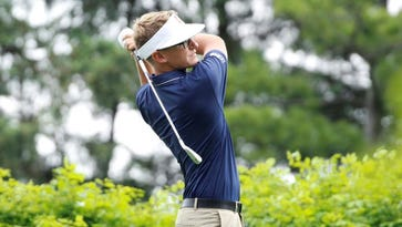 Glasses, visor and serious game: Dylan Meyer ready to take on world of pro golf
