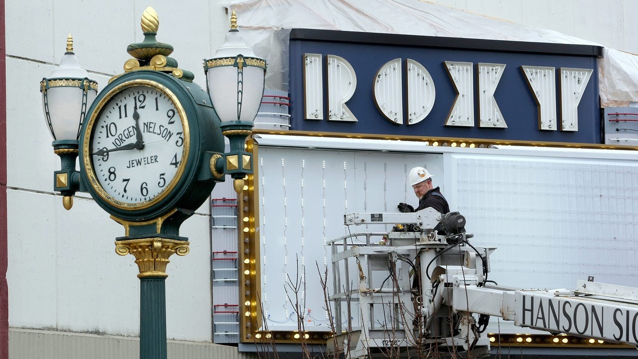 The new-look Roxy Theater has been lit for the first time. The theater's restoration continues, and Josh Farley's got an inside look for you this week, along with his usual five stories, you just gotta know happening in Bremerton this week.