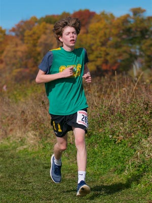 Clinton's Eain Johns finished eighth as an eighth-grader at last year's Mid-Wach E Championships.