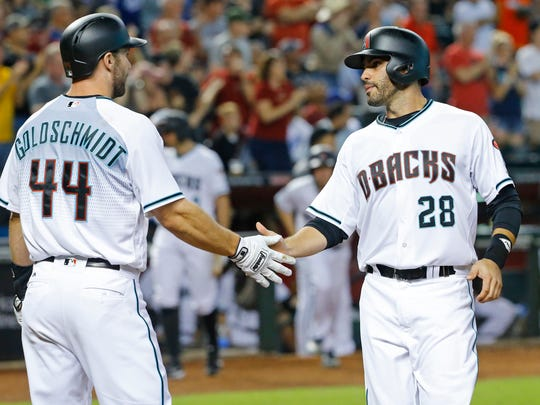 J.D. Martinez has turned around his career and has provided a threat behind Paul Goldschmidt in the Diamondbacks' lineup.