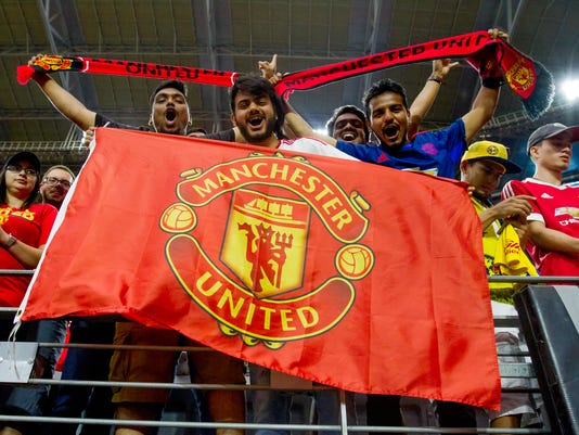 Manchester United faces Club America in friendly match