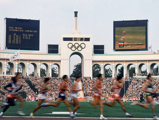 The Olympics has not returned to Los Angeles since