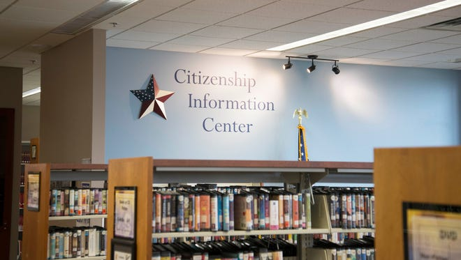 The Citizenship Information Center in the Manitowoc Public Library.