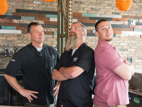 Kevin Reading, Eric Williams and Ryan Mahoney have teamed up to create Brick Works Brewing and Eats, a new brewpub opening Thursday in Smyrna.