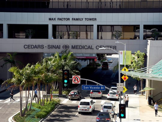At Cedars-Sinai Hospital in Los Angeles, patients were
