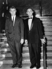 FBI Special Agents John Mabey and Edward Moody (R),