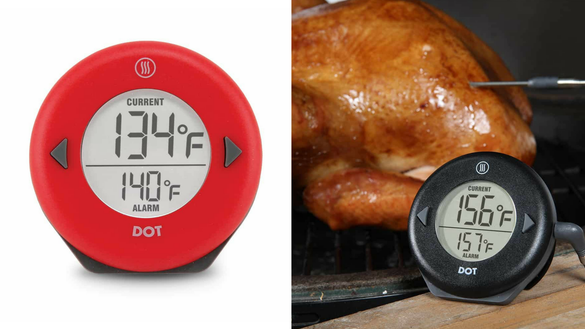 This meat thermometer is perfect for the grill—and