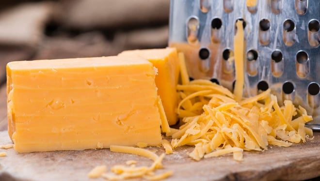 It doesn't get better than a pile of cheddar.