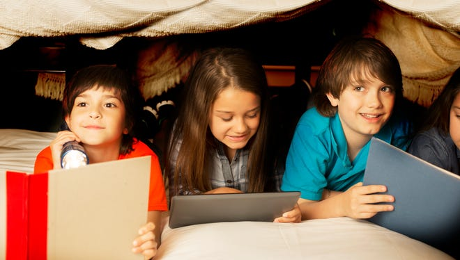 Letting your kids build a fort will keep them busy for hours.
