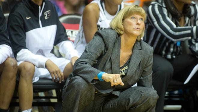 Purdue coach Sharon Versyp and the Boilermakers prepare for Akron in the first round of the women's NCAA tournament.
