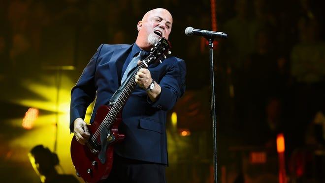 Billy Joel performs at Madison Square Garden on Jan. 7, 2016.