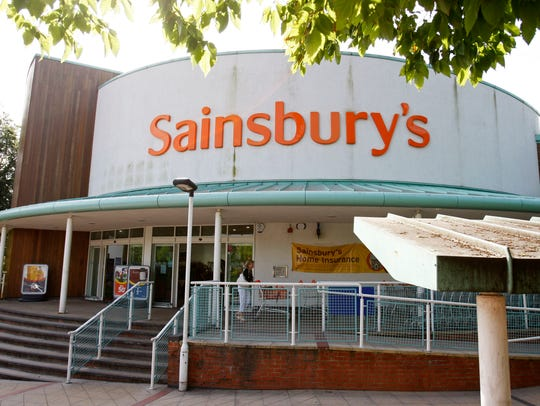A branch of Sainsbury's supermarket is seen in Selsdon,