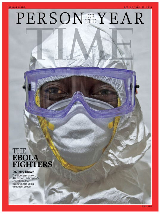 TIME PERSON OF THE YEAR 2014