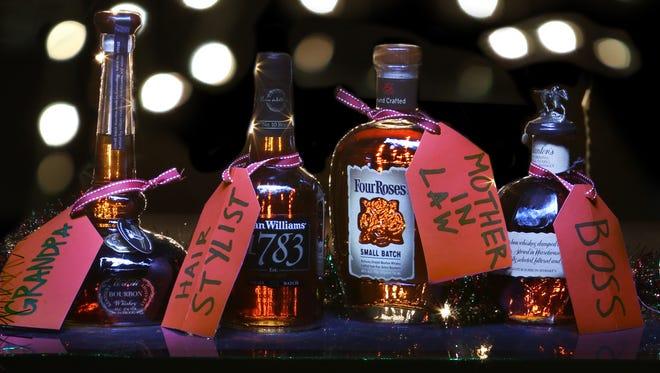 Bourbon gifts.December 4, 2015
