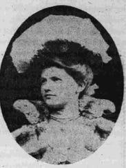 Marjorie Merriweather Post at age 14.