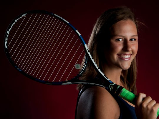 Montgomery Advertiser All-Metro Tennis Player of the Year Elizabeth Robertson, of Montgomery Academy, in Montgomery, Ala. on Friday June 16, 2017.