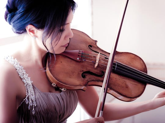 Violist Hsin-Yun Huang will perform Friday with the