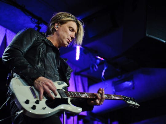 John Rzeznik of Goo Goo Dolls performs a private concert for Sirius XM at City Winery on November 14, 2016 in Chicago, Illinois.