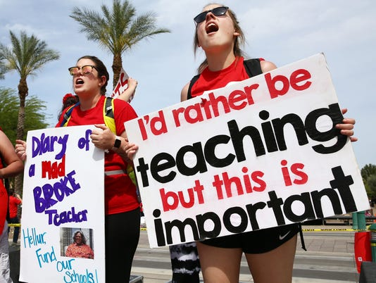 Day 3 Arizona Teacher Walkout