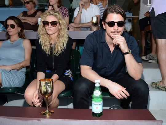 The Moet and Chandon Suite at the 2015 BNP Paribas Open - Day 13
