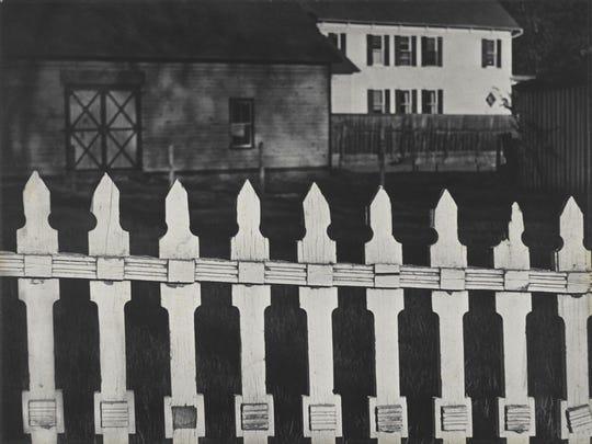 Above, clockwise from top left: Mr. Bennett, East Jamaica, Vermont, 1943; The Family, Luzzara (The Lusettis), 1953; Anna Attinga Frafra, Accra, Ghana, 1964; White Fence, Port Kent, New York, 1916 (negative); 1945 (print). Paul Strand, American, 1890 - 1976.