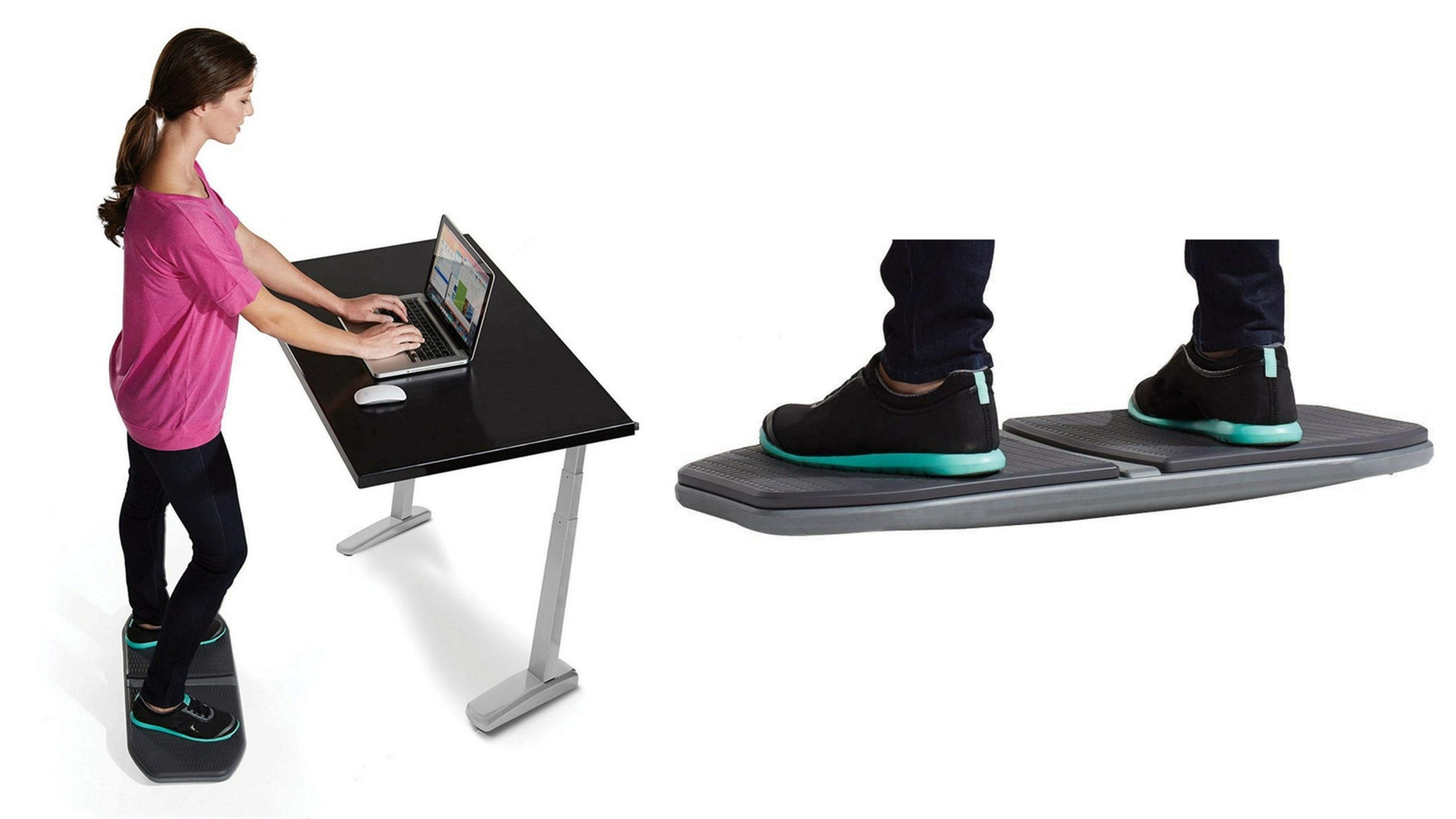 Want A Standing A Desk You Need This Balancing Board Too