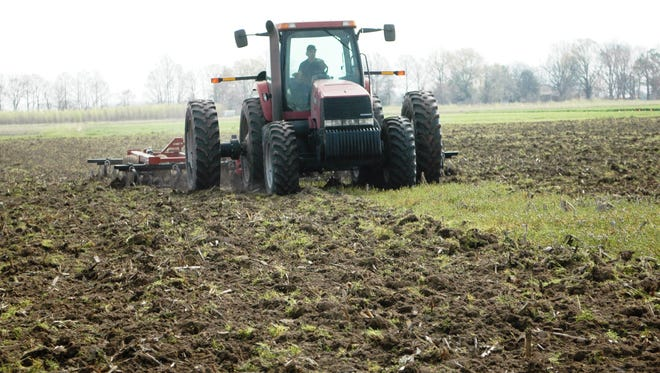 Spring planting is underway in Mississippi.