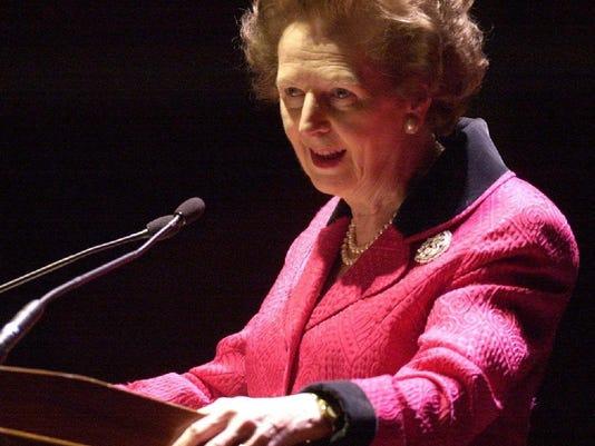 Margaret Thatcher in Milwaukee