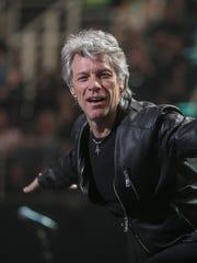 Jon Bon Jovi performs at Talking Stick Resort Arena, Phoenix, Saturday, March 4.