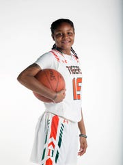 Dekeriya Patterson, Dunbar High School, Basketball