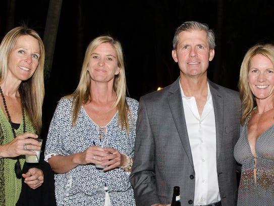 Nic Mader, left, Lisa Johansen and Cam and Nancy Collins
