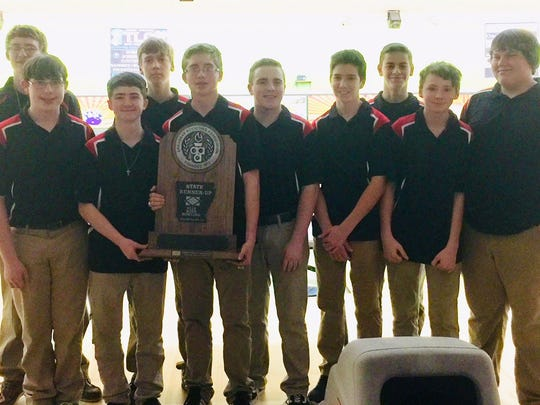 The Norfork Panthers finished as runners-up at the 3A/2A/1A State Bowling Tournament on Wednesday at Cabot.