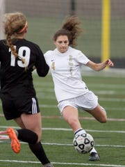 Howell's Ashley Strong (4) is an All-KLAA player who