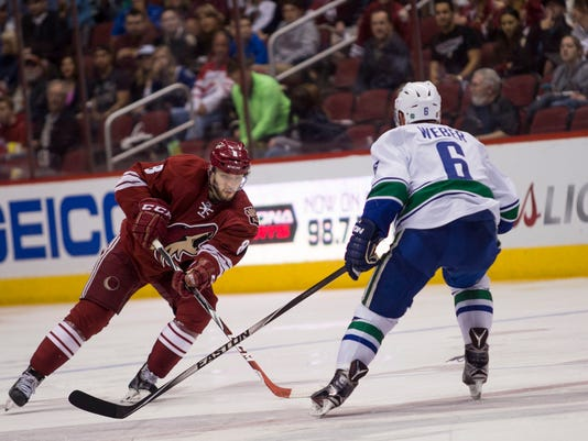 Coyotes vs Canucks