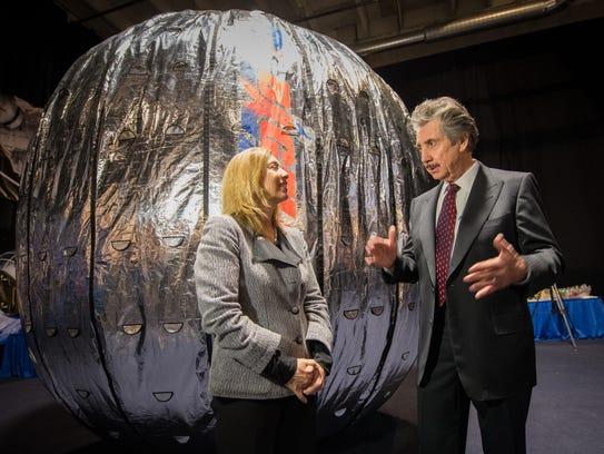 NASA Deputy Administrator Lori Garver and President