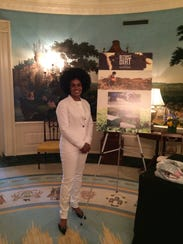 Pashon Murray, founder of Detroit Dirt, at White House