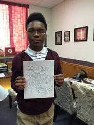 Issac Calloway designed a coloring page at Dojo Comics